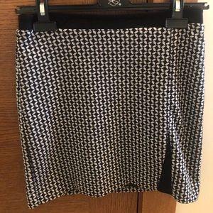 Jacob Geometric Print Mini skirt size 00